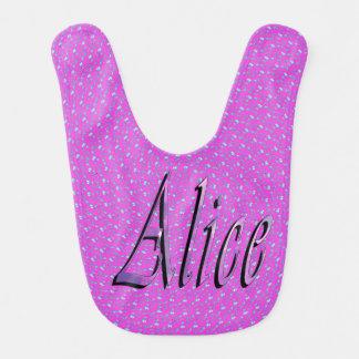 Alice, Name, Logo,_ Bib
