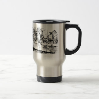 Alice of the country of wonder travel mug
