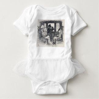 Alice on the Train Baby Bodysuit