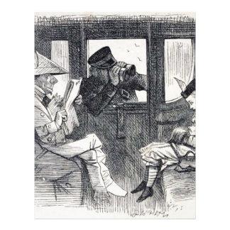 Alice on the Train Letterhead
