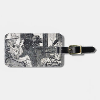 Alice on the Train Luggage Tag