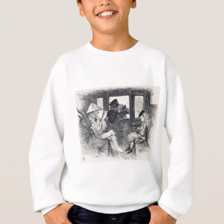 Alice on the Train Sweatshirt