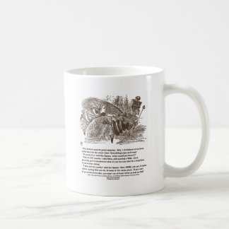 Alice Red Queen Running To Stay In Same Place Coffee Mug
