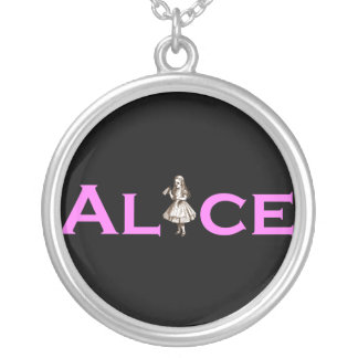 Alice Silver Plated Necklace