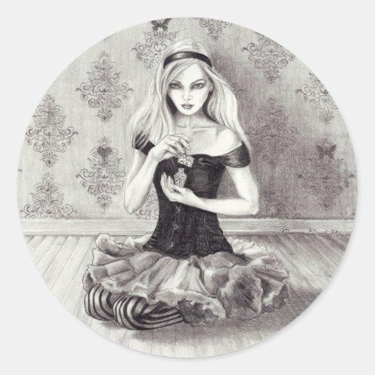 Alice Sticker Alice in Wonderland Sticker