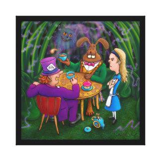 Alice Tea Party Canvas Print