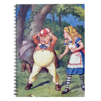 Alice & the Angry Tweedle Notebook