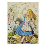 Alice & the Cards Full Colour Poster