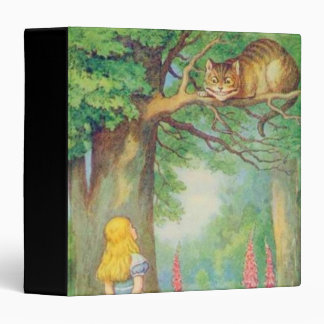 Alice & the Cheshire Cat in Full Color Binder