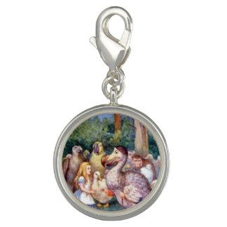 Alice & the Dodo Full Color Photo Charm