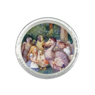 Alice & the Dodo Full Color Rings
