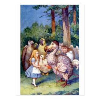 Alice & the Dodo in Full Color Postcard