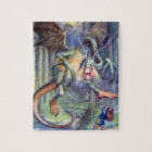 Alice & the Jabberwocky Full Colour Puzzle