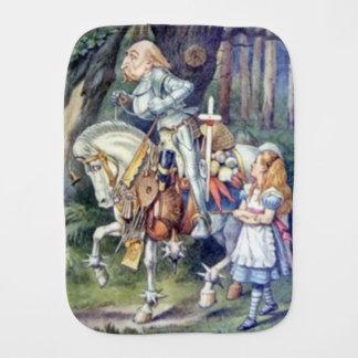Alice & the Knight Color Burp Cloth