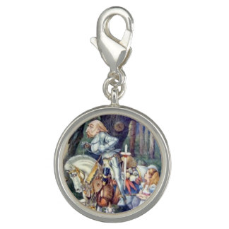 Alice & the Knight Full Color Photo Charm