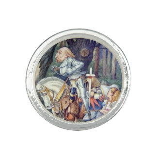 Alice & the Knight Full Color Photo Rings