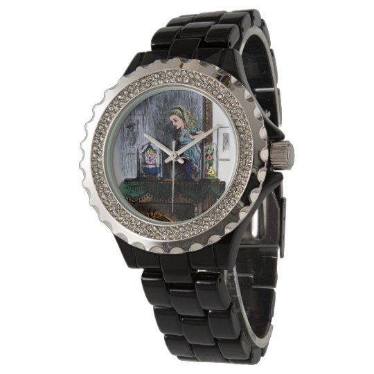 Alice & the Looking Glass Wrist Watches