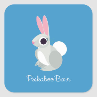 Alice the Rabbit Square Sticker