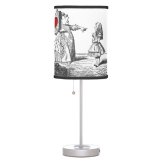 Alice & the Red Queen (Alice in Wonderland) Table Lamp