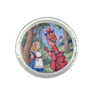 Alice & the Red Queen Photo Rings
