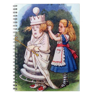 Alice & the White Queen Notebook