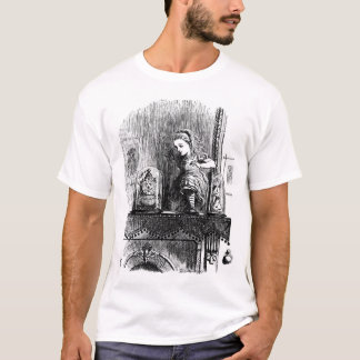 Alice through the looking glass shirt