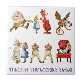 Alice Through the Looking Glass Tile