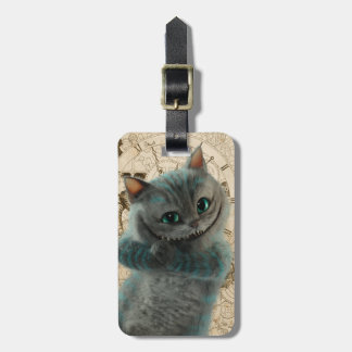 Alice Thru the Looking Glass | Cheshire Cat Grin Luggage Tag