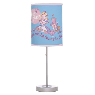 Alice | Time Can Be Funny In Dreams Desk Lamps
