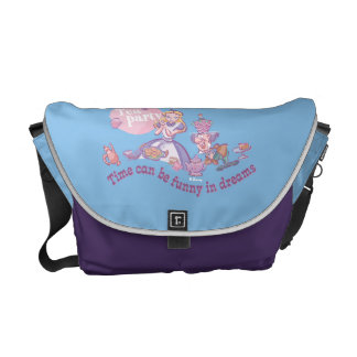 Alice | Time Can Be Funny In Dreams Messenger Bags