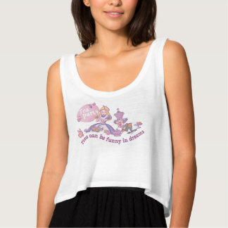 Alice   Time Can Be Funny In Dreams Tank Top