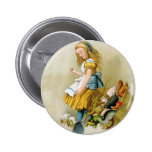 ALICE TIPS OVER THE JURY BOX 2 INCH ROUND BUTTON