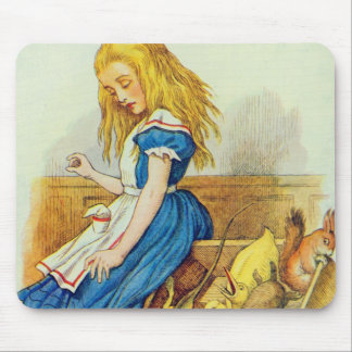 Alice Upsets the Jury-Box Mouse Pad