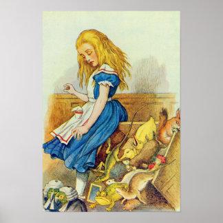 Alice Upsets the Jury-Box Poster