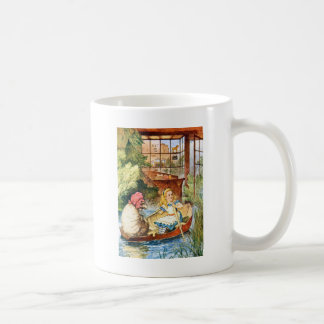 Alice Watched as the Old Woman Turned into a Sheep Coffee Mug