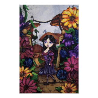 """ALICE"" Wonderland Fantasy Art Print"