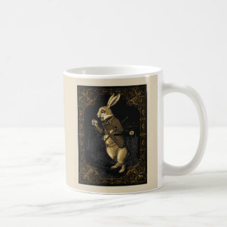 Alice Wonderland Rabbit Mug