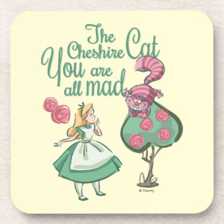 Alice | You Are All Mad Beverage Coasters