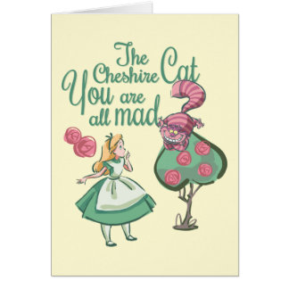 Alice | You Are All Mad Card