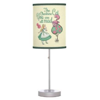 Alice | You Are All Mad Desk Lamp