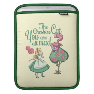 Alice | You Are All Mad iPad Sleeves