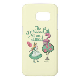 Alice | You Are All Mad Samsung Galaxy S7 Case