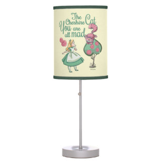 Alice | You Are All Mad Table Lamp