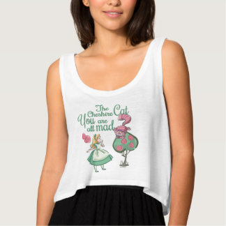 Alice   You Are All Mad Tank Top