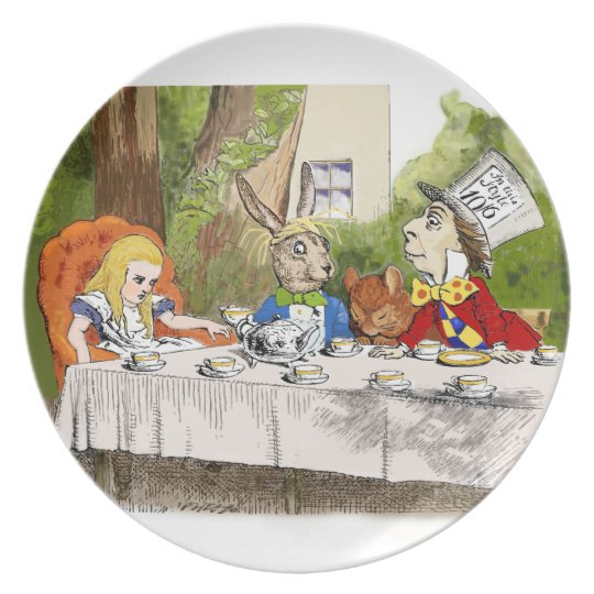 Alice's Adventures in Wonderland Plate