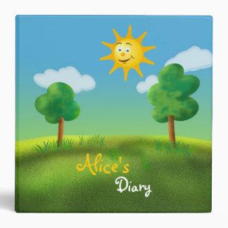 Alice's Diary - Sunny Day Binder