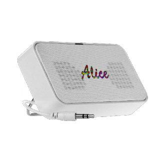 Alice's doodle speaker