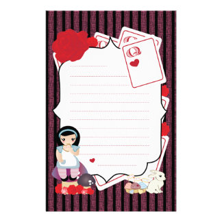 Alice's Notes Stationery
