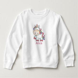 Alice's Personalized Unicorn Gifts Sweatshirt