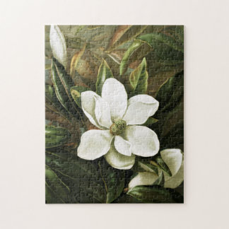 Alicia H. Laird: Magnolia Grandflora Jigsaw Puzzle